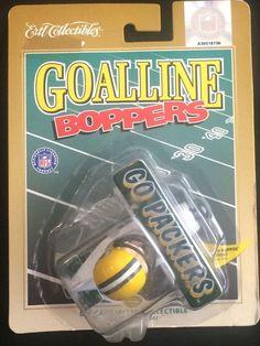 "1998 Ertl Goalline Boppers ""GO PACKERS"" Green Bay Die Cast Airplane NIP  #ERTL #GreenBayPackers Packers Memes, Packers Funny, Go Packers, Green Bay Packers, Airplane, Diecast, Quotes, Sports, Plane"