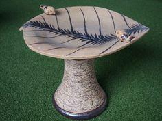 Keramické pítko pro ptáky, keramická dekorace do Vaší zahrady, pítko pro ptáky, ručně vyráběná keramika : Jezírka Banat s.r.o.