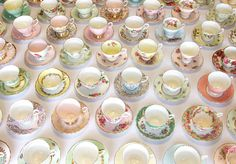 tea party - vintage china