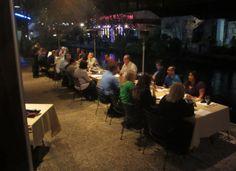 Riverside dinner at Saltgrass