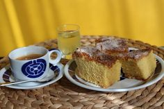 Bica de Trives. Tradicional from Galicia. Cheesecakes, Cake Tutorial, French Toast, Sweets, Breakfast, Desserts, Recipes, Pink, Afternoon Snacks
