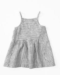 —20 % off— wolfechild park dress in ticker stripe is a linen tank dress with…
