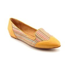"""Miz Mooz camel and stripes flats Super cute colorful wing tip flats with a hidden 1"""" sliver wedge. Leather almond toe cap and heel and leather lined. Miz Mooz Shoes Flats & Loafers"""