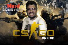 Counter-Strike: Global Offensive #1- CS GOPT BR Gameplay -  NERD RETRÔ
