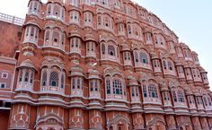 """""""The Pink City"""", Jaipur, India."""