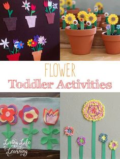 Have fun with your little one with these great flower toddler activities and crafts