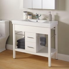 "36"" Manhattan Console Vanity - Bathroom Vanities - Bathroom"
