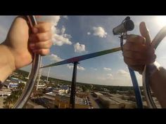 Experience the Thrill Rides at Kissimmee's Old Town! - YouTube