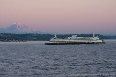 Ferry ride... Seattle to Bainbridge Island. It would be a dream come true to live on this island!
