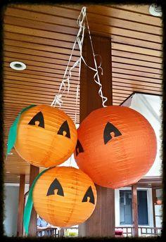 halloween Chinese lanterns