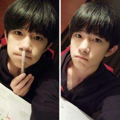 TFBOYS Jackson's weibo cover