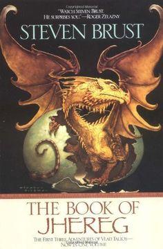 The Book of Jhereg by Steven Brust, http://www.amazon.com/dp/0441006159/ref=cm_sw_r_pi_dp_Cf6Cub1FXWVCQ