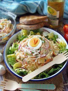 Tavaszváró saláta Bacon, Paleo, Food And Drink, Foods, Meat, Chicken, Cooking, Food Food, Kitchen