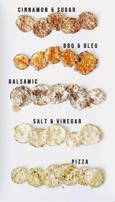 Zucchini Chip Variations *updated!*