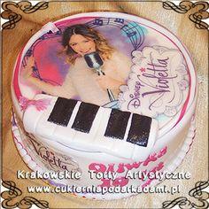 094. Tort z Violettą dla Oliwki. Violetta cake.