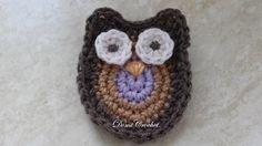 Crochet amigurumi Owl Instruction Амигуруми. Сова крючком - YouTube