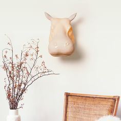 The worst thing about taxidermy animal heads mounted on the wall They dont even bloody light up. Now you dont have to wrestle a Rhino or behead a Animal Head Decor, Animal Heads, Deco Originale, Gadget Gifts, Gift List, Neon Lighting, Natural History, Decoration, Light Up