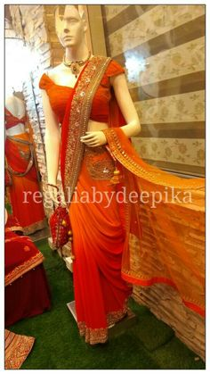 HAPPY MOTHER'S DAY !! Grab this beautiful saree for your mother this mother's day and let her know that you love her more than anything. Hurry up !!#Mothersday #love #sunday #may #unconditionallove #neverending #aboveall #delhifashion #saree # weekoff #specialday #orange #shaded#yellow #detailing #blouse #zari #indianwear #function  #customisationavailable #omre #traditional #embroidered #handembroidered #designerwear #indian_attire #shop_for_a_cause @regaliabydeepika For customisation mail…