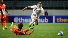 In AFC Champions League #AdelaideUnited stun #Jeju while #WSWanderers fall short. #BrisbaneRoar play tonight.