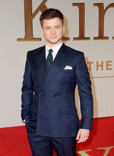 Meet Taron Egerton, wearer of suits, star of Kingsman: The Secret Service.