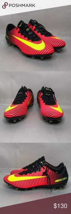 new product 175d3 4f12f Nike Mercurial Vapor XI AG-Pro 831957-871 SZ 10.5 Nike Mercurial Vapor XI