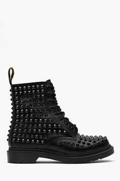 Spike 8 Eye Boot - Black $350 - Gimme Gimme Gimme... would make atypical work clothes Kick.