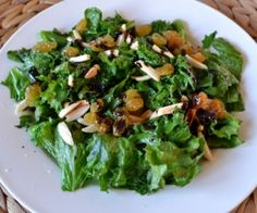 Mustard Greens with Balsamic Recipe and more vegetable Paleo side dishes recipes on MyNaturalFamily.com #paleo