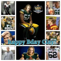 HAPPY BIRTHDAY CLAY MATTHEWS!!!!