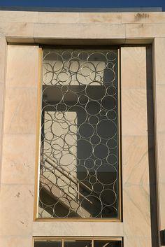 IL-Belleville - Bubbly bank   Bank window Belleville IL