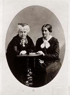 Did You Know A Woman's Right To Vote Was Sparked By Two Brave Women On July 4, 1876? (Elizabeth Cady Stanton and Susan B. Anthony)