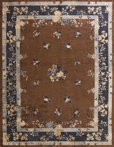 """#157 Chinese Peking carpet 9'0"""" x 11'6"""" circa 1900"""