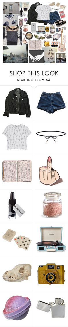 """Ghost of a Memory~Part 1"" by fantasy-lover-0719 ❤ liked on Polyvore featuring American Apparel, Monki, Lilou, Vans, Local Heroes, ...Lost, Dot & Bo, Crosley, Transparente and Holga"