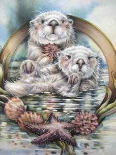 Jody Bergsma.....  I have over 200 pieces of her work... Love, love her work.