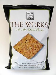 Food Should Taste Good The Works Chips. Vegan Appetizers, Vegan Snacks, Food Should Taste Good, Good Food, Vegan Chips, Lunch, Bread, Cheese, Drinks