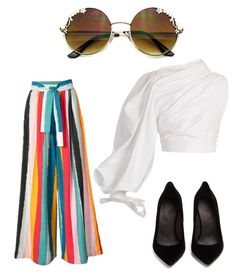 """""""Untitled #194"""" by susannhaabeth on Polyvore featuring Tome, Jacquemus and Maison Margiela"""