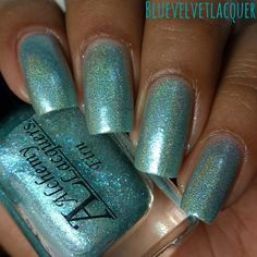 Blue Velvet Lacquer: Alchemy Lacquers: Artic Alchemy - Swatches & Review