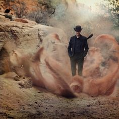 California-based photographer Trini Schultz, aka Trini61, explores new worlds through her lens filled with haunting and, at times, romanticized portraits of people with their own captivating narratives. Time stands still in each of her surreal images as wafts of dust billow around a mysterious man, floating umbrellas fill the sky, and a rainstorm of rocks …