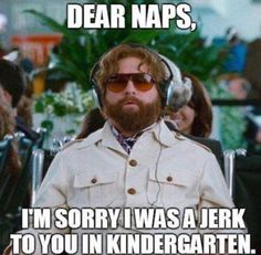 If only my students would realize how great it actually is to nap.