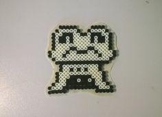 Froggit by Supernaturally Diy Perler Beads, Perler Bead Art, Pearler Beads, Fuse Beads, Pearler Bead Patterns, Kandi Patterns, Perler Patterns, Undertale Pixel Art, Pearl Beads Pattern