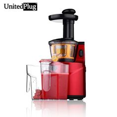 159.00$  Watch now  - UnitedPlug Juicer automatic orange juicer Healthy nutritious slow juicer home using electric juicer fruit juice maker K-Q8