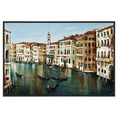 PTM Images Grand Canal Canvas Wall Art - 9-42173B