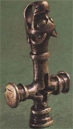 Silver Thors hammer   10th Century CE. Fossi, Iceland