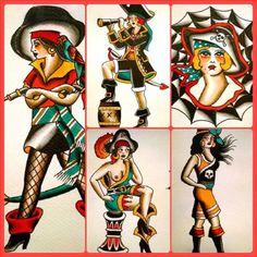 Na semana que vem receberemos a tatuadora Espanhola Lidia Lopez. Veterana das tours, a tatuadora já passou por países como Irlanda, Alemanha e Noruega tatuando lindas #pinups entre outros temas do repertório #oldschool.   Logo abaixo segue uma amostra do trabalho de Lidia, que atualmente faz parte do time da Sakura Tattoo, em Santiago, no Chile.  LIDIA LOPEZ BRASIL TOUR Dias 2 e 3 de Fevereiro na ALMIRANTE TATTOO RIO DE JANEIRO  AGENDAMENTOS POR INBOX (no Facebook) OU PELO TELEFONE:  (21)…