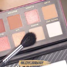 HUSH eyeshadow palette tutorial  SHOPHUSH EYESHADOW PALETTE Hush Hush, Eyeshadow Palette, Cosmetics, Tools, Videos, Beauty, Products, Instruments, Beauty Illustration