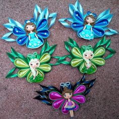 "12 Likes, 1 Comments - Gusriati Gea(hairbow&clay) (@gusriatigea) on Instagram: ""#kanzashi #hairbows #handmade"""
