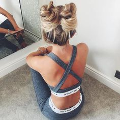 Say Hello To The New Instagram Trend : Two Buns Hairstyle