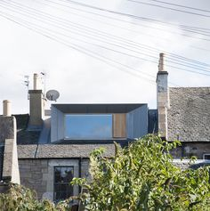 Extension on a listed building and in conservation area. Zinc-clad loft extension by Konishi Gaffney creates an extra bedroom Loft Dormer, Dormer Loft Conversion, Dormer Roof, Dormer Windows, Loft Conversions, Attic Conversion Terraced House, Extension Veranda, House Extension Design, Roof Extension