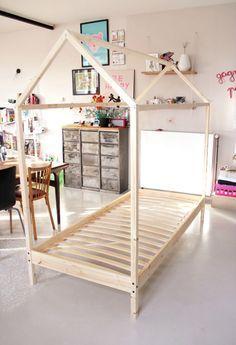 DIY - le fameux lit cabane - Tête d'ange