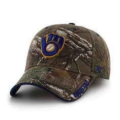 Milwaukee Brewers Camouflage hats