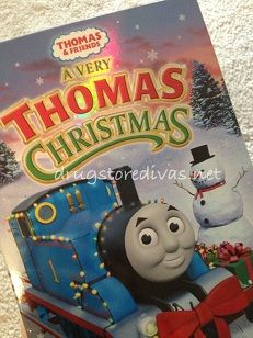 Holiday Gift Guide Review & Giveaway: Thomas & Friends A Very Thomas Christmas DVD [[Ends 12/15]]